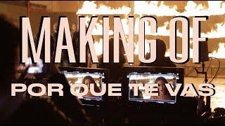 Making Of: 'por Que Te Vas' Con Cali Y El Dandee  Tini