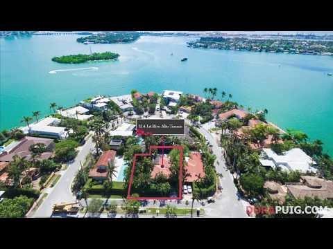 Charming Venetian Islands Oasis - 114 1st Rivo Alto Terrace, Miami Beach Luxury Home