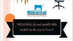💰 Stock Result: FY18-19, Q3, NILKAMAL LTD. (NSE: NILKAMAL & BSE: 523385)