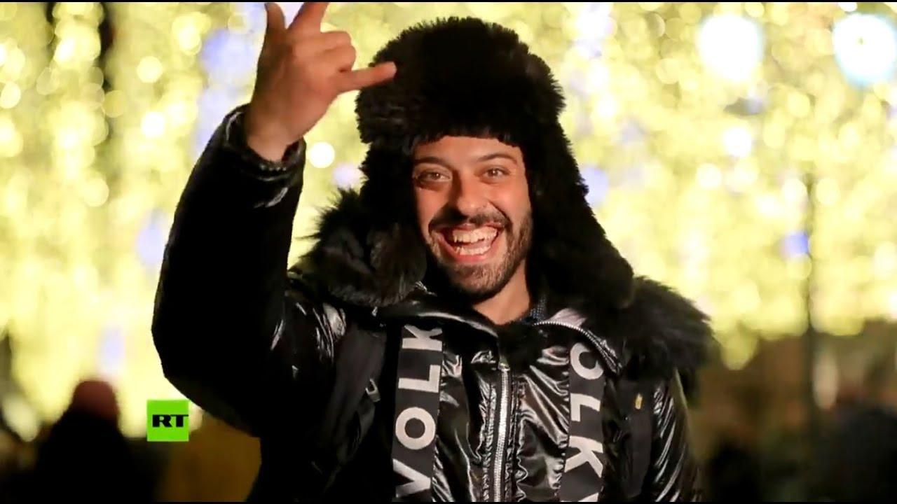 Самый известный бразильский болельщик вернулся в Россию, чтобы отметить Новый год