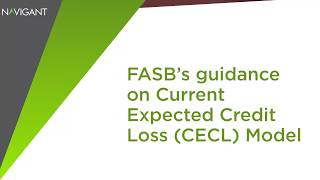FASB's Guidance on Current Expected Credit Loss (CECL) Model