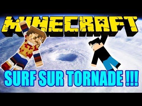 Fanta Bob Mods : SURF SUR TORNADE !!! - Minecraft Mod