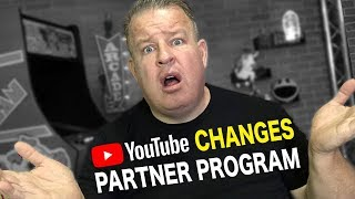 YouTube Changes Partner Program - It's a Good Thing??