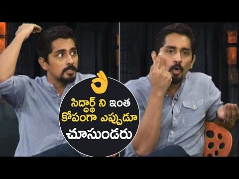 Hero Siddharth Extraordinary Answer On His Controversies In TFI | Fantastic | TFPC
