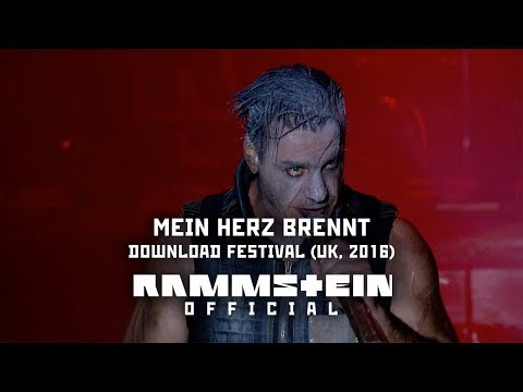 Rammstein - Mein Herz brennt (Live at Download Festival UK 2016)