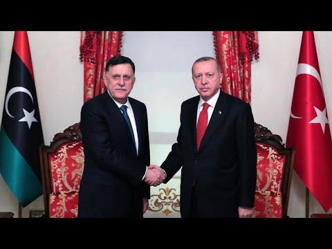 لقاء جديد يجمع أردوغان والسراج وسط تأزم في شرق المتوسط  - نشر قبل 3 ساعة