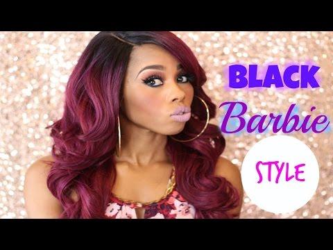 Black Barbie Inspired Makeup Collab Ft. OhSoFashionable805