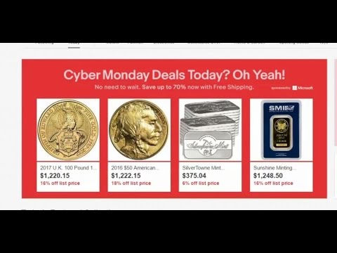 Cyber Monday GOLD NEAR SPOT! Amazing Deals!