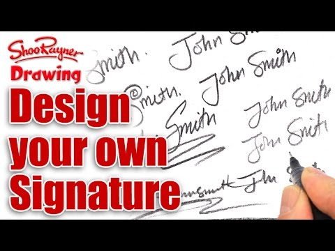 How to design your own amazing signature