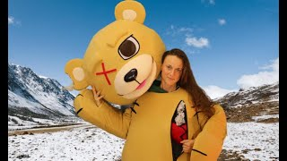 Teddy Bear mascot looks like  it has a crush   Mascot Costumes TV