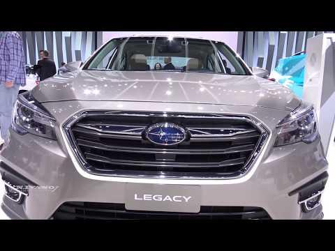 2018 Subaru Legacy 3.6R AWD - Exterior And Interior Walkaround - LA Auto Show 2017