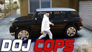 Dept. of Justice Cops #567 - Bad Car Day
