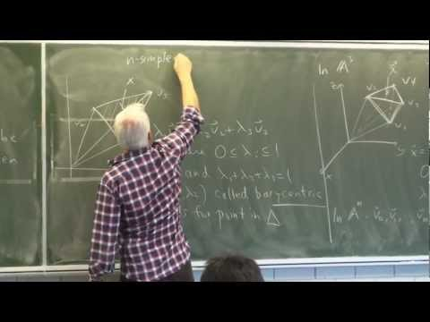 AlgTop32: Simplices and simplicial complexes