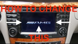 Download How To Change Mercedes Comand Start Up Logo To Amg