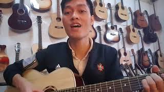 Đàn Guitar Acoustic CHUẨN cho người tập. Mã ET2 và ET25. Giá 950k - 1000k
