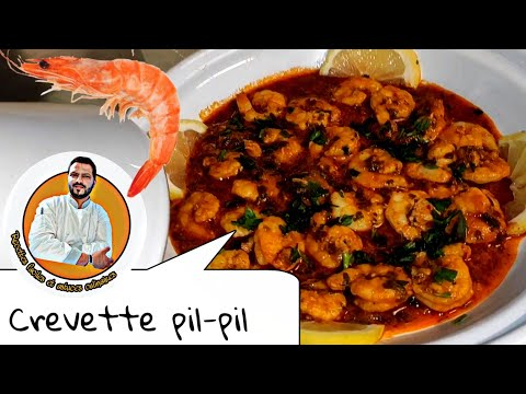 Crevettes pil-pil ‼️