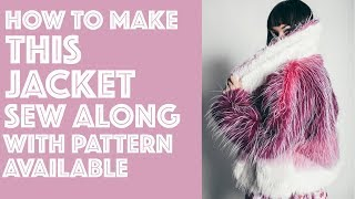 How to Sew a Jacket DIY | Sew Anastasia