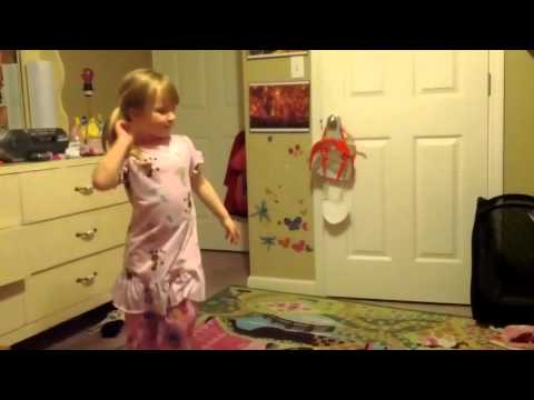 Kathryn Dances In Room