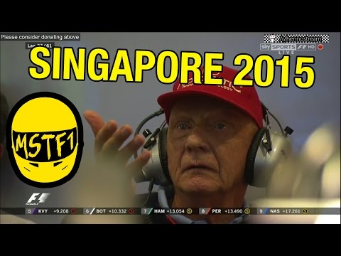 2015 Singapore Grand Prix – Mystery Science Theater F1