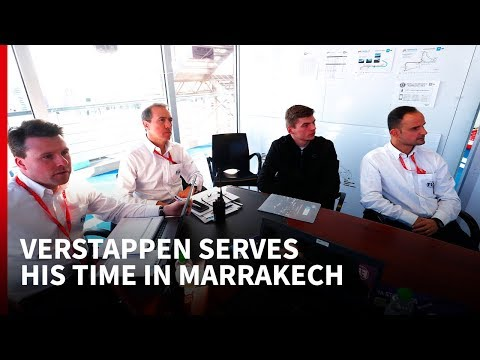 What Verstappen got from his first 'public service' punishment