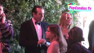 Chazz Palminteri & Gianna Ranaudo depart 2013 Vanity Fair Oscar Party in WeHo Thumbnail