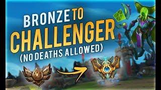 CHALLENGER Leblanc visits BRONZE | Bronze to Challenger EP.1 (Pokemon Challenge)