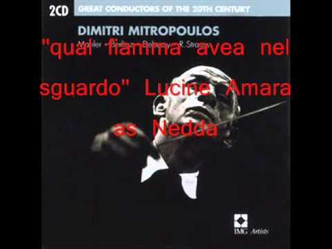 6 Qual Fiamma AveaI Pagliacci Lucine Amara LIVE 1959Lucine Amara ,Mario Del Monaco, Dimitri Mitropoulos