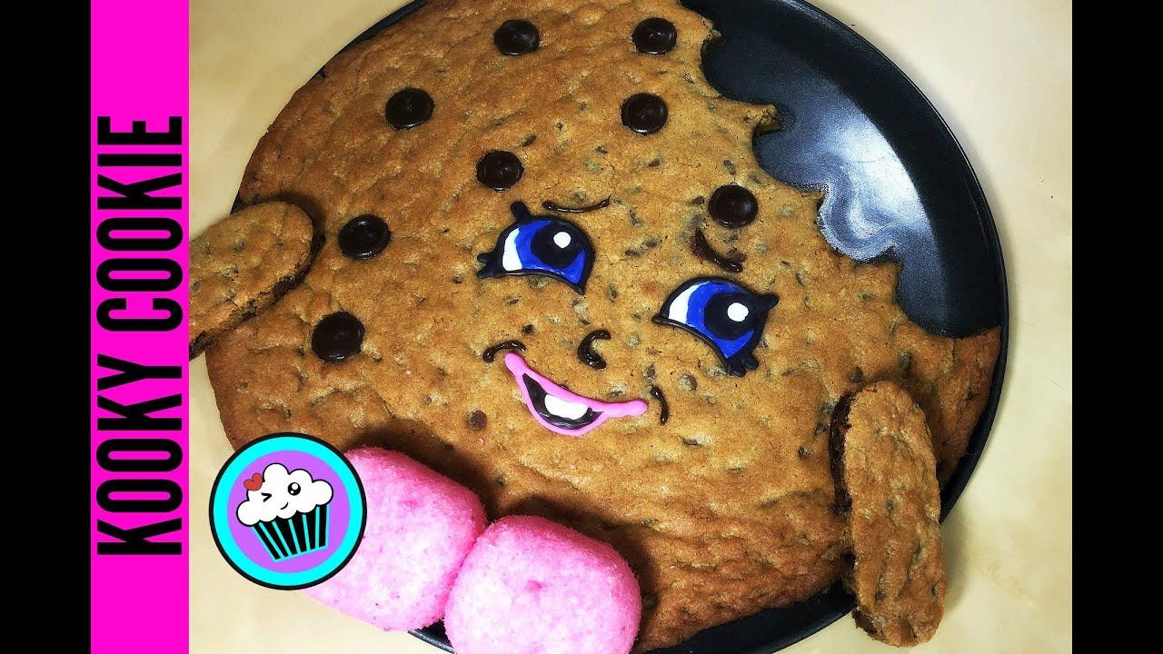 How To Make Shopkins Kooky Cookie