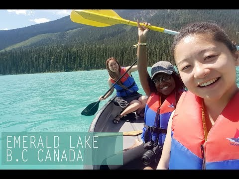 Emerald Lake (British Columbia) - Via Rail 150 CANADA - VLOG 7 -