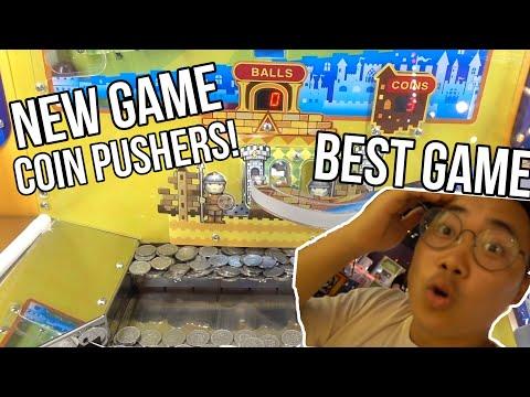 NEW ARCADE GAMES! COIN PUSHERS! - Arcade Ninja