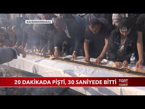 46 Metrelik Adana Kebabı 30 Saniyede Tükendi