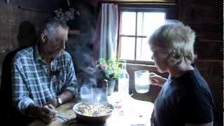 Almleben auf der höchstgelegenen Hochalm des Tiroler Unterlandes