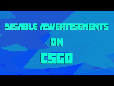 How To Disable Community Server Advertisements - CSGO
