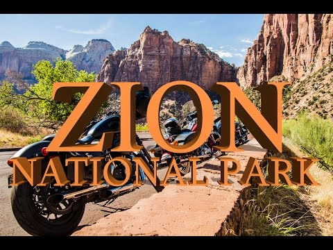 Majestic Utah Road Trip Pt. 2 - Zion National Park - Bobcat Ambushes Motorcycles!!