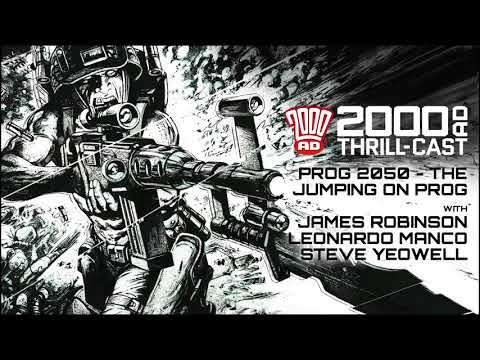The 2000 AD Thrill-Cast: Jump on board with 2000 AD Prog 2050!