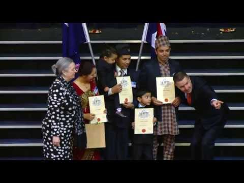 Bhutanese citizenship celebration
