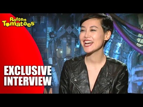 Rinko Kikuchi - Exclusive 'Pacific Rim' Interview (2013)