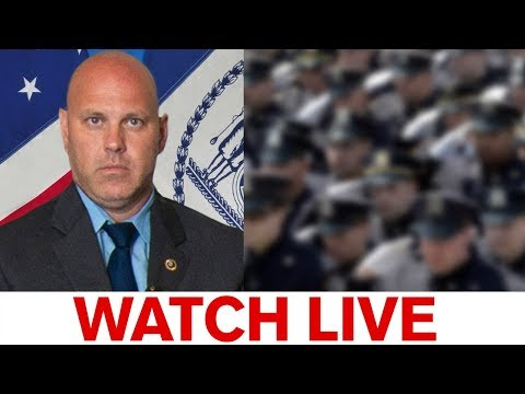 NYPD Detective Brian Simonsen funeral