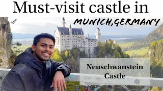 How to get to Neuschwanstein Castle from Munich Germany (TRAVEL VLOG)