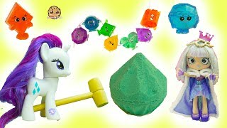 Surprise Diamond Dig It - Rainbow Gemlins Gemstones with My Little Pony + Shoppies Gemma Stone