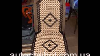 Видео обзор накидок на сиденья