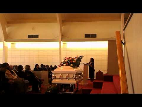 Linda Marshall's funeral