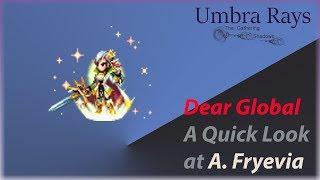 Dear GL: Quick Look at Aurora Fryevia
