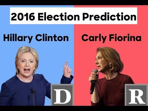 2016/20 Election Prediction | Carly Fiorina vs Hillary Clinton