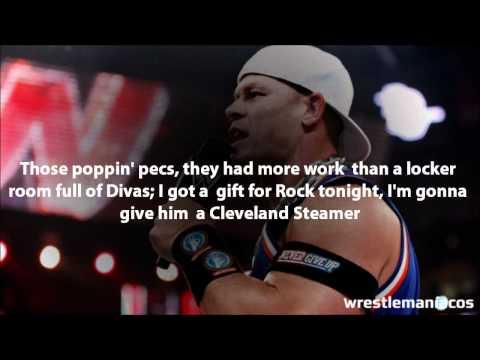 Cena's Rap (with lyrics) - Wrestlemaníacos
