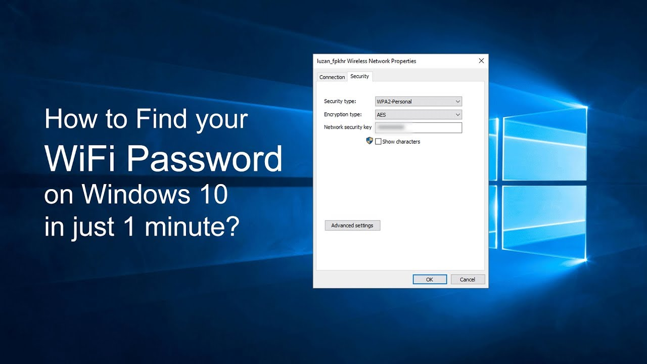 how to check wifi password on windows 8