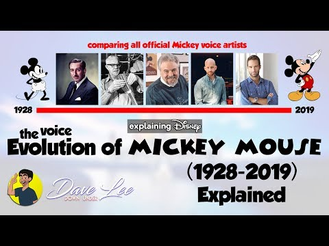 Voice Evolution Of MICKEY MOUSE Over 91 Years (All Voice Actors Comparison 1928-2019) Compared