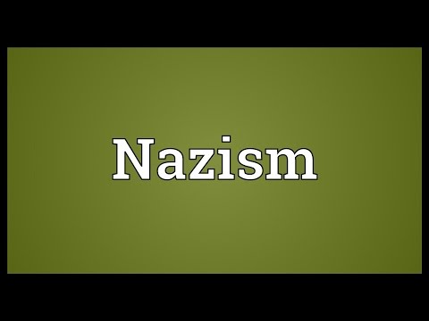 Nazism Meaning