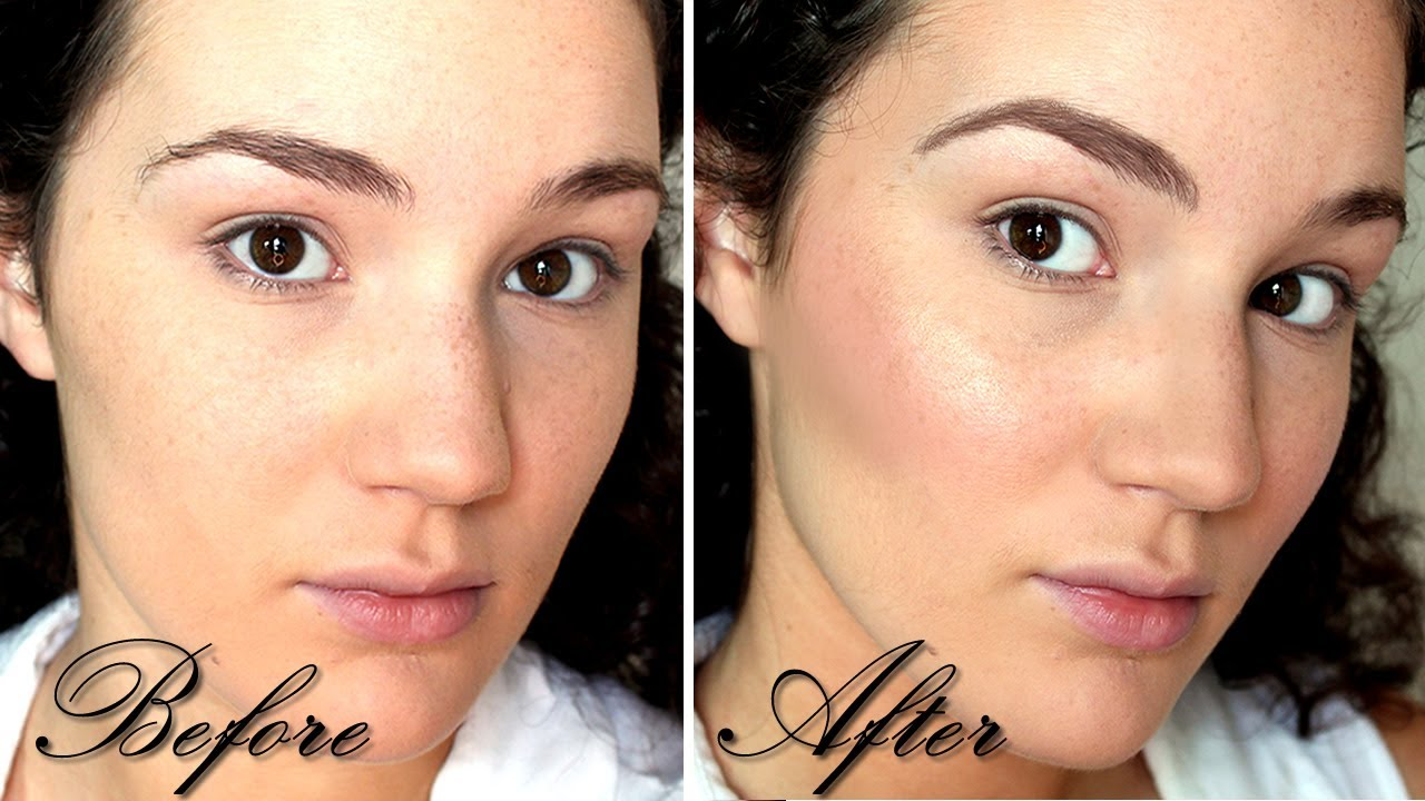 How To Contour, Blush, Highlight & Fill In Eyebrows  Back To Basics Face  Part 2