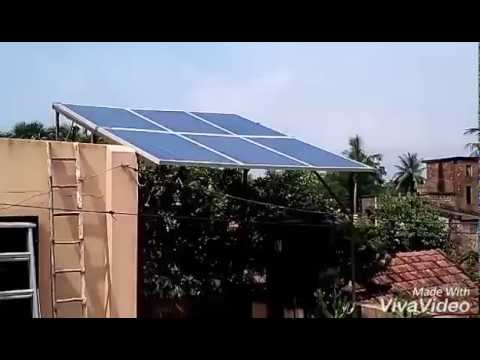 Off Grid 1.5 KW Solar Power plant by Sabujshakti Energy Revolution Pvt Ltd